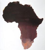 Africa 9, 2001, 54 x 48 cm, oil on paper