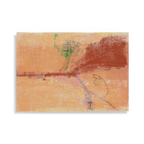 Rotbuche 3, 2013, 21 x 30 cm, printing ink on paper on wood