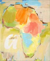 Africa a, 2000, 60 x 49 cm, oil on canvas