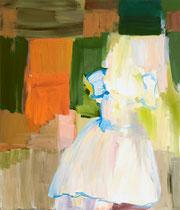 coronation dress, 2008, 107 x 91 cm, oil on canvas