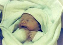Luisa gerade geboren - Juni 1992