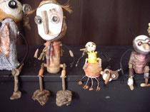 marionnette récupération d'objet