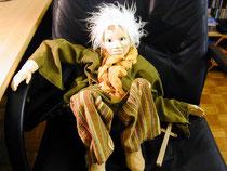marionnette bunraku/ bois