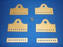 Bauteile Testwerkstück eines Einleitknotens