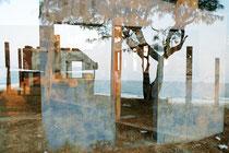 overlooking the sea I / mit Meerblick I, Lambda-print 30x45 cm framed 53x72,5 cm