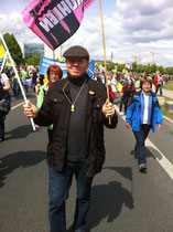 Ian auf der Energiewende-Demo in Berlin 10.05.2014