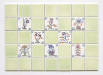 Delft Design Miniature Tiles