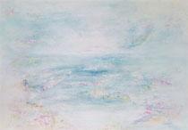 And suddenly everything got quiet… - Y todo se quedó en silencio… 114 x 162 cm