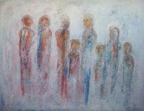APENAS VISIBLE  PERO PRESENTE      114 x 146 cm