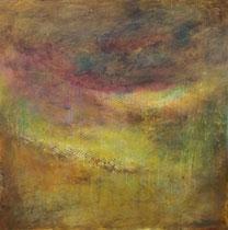 Golden clolours of an autumn day      100 x 100 cm