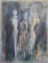 El mar y las mujeres                116 x 89 cm        - vendido / sold -