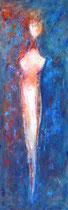 SALIENDO DE  LA OSCURIDAD                        162  x 55 cm