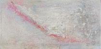 LINEA ROJA SOBRE BLANCO                    40  x 80 cm