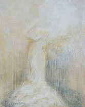 ELEGANCIA BLANCA    130 x 97 cm - sold / vendido  -