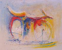 BICICLO  130 x 162 cm                                           - vendido / sold -