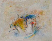 LAVANDERA JAPONESA 81 x 100 cm                     - vendido / sold -