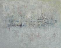 hidden - oculto técnica mixta sobre lienzo 114 x 146 cm    - vendido/sold