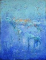 Let yourself be carried away by your feelings  - Dejate llevar por tus sentimientos     146 x 114 cm  - vendido/sold