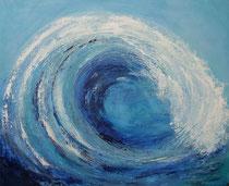 powerful sea -   mar poderosa   81 x 100 cm  - vendido/sold