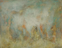 En otro mundo - In another world  89 x 116 cm