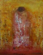 the hug - el abrazo 1466 x 114 cm    - vendido/sold