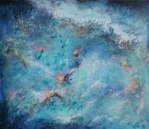 dancing water     120 x 140 cm