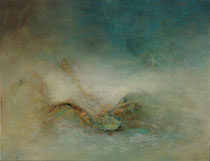 El cielo se acerca - Heaven is coming         89 x 116 cm  - vendido/sold