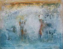 MUJERES A LA ORILLA DEL MAR                    73 x 92 cm               - vendido/sold