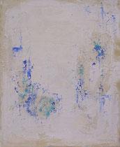 POCO AZUL SOBRE MUCHO  BLANCO    61 x 50 cm