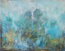 In search of the hidden - buscando lo oculto     89 x 116 cm