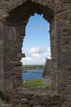Clonmacnoise, Blick auf den Shannonriver,  Irland