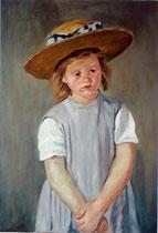 copie d'après Mary Cassatt, 64/46 cm, 1995