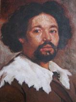 """""""Juan de Pareja""""copie d'après Vélasquez, 2004"""