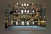 """Blick in die """"Neue Moschee"""""""