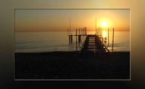Sonnenuntergang am Hotelstrand 2