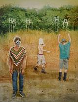 HA HA HA, 170 x 130 cm, Oil on canvas, 2013