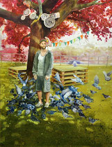 Wonderland, 170 x 130 cm, Oil on canvas, 2014