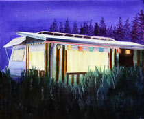 Campernacht, 50 x 60 cm, Oil on canvas, 2009