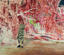 Achtung Freiraum, 120 x 140 cm, Oil on canvas, 2018