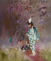 Pinkman, 120 x 100 cm, Oil on canvas, 2015
