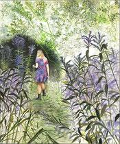 Alice, 120 x 100 cm, Oil on canvas, 2014
