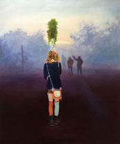 Morgenland, 120 x 100 cm, Oil on canvas, 2015