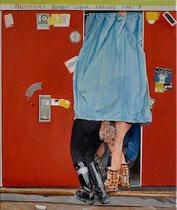Freunde für immer, 60 x 50 cm, Oil on Canvas, 2019