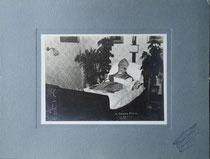 Dr.theol. et Dr.phil. Josef Altenweisel, Fürstbischof von Brixen, gest. am 25. Juni 1912 in Matrei am Brenner. Impressum: A(nton). Straka, Matrei a.Br.  Gelatinesilberabzug 12,8 x 17,9 cm auf Untersatzsatzkarton 22,5 x 29,8 cm. Inv.-Nr. vuDINA4-ka00003aob