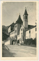Ansitz KLEBENSTEIN in der ehemaligen Malgrei St. Peter. Gelatinesilberabzug 9x14cm; Kilophot, Wien; postalisch gelaufen 1924.  Inv.-Nr. vu914gs00178