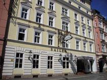 Hotel (ehemals Gasthof) SAILER, Adamgasse 8, Innsbruck. Digitalphoto, © Johann G. Mairhofer 2012.  Inv.-Nr, DSC04380