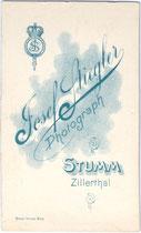 Bedruckte Rückseite von Inv.-Nr. vuVIS-00072