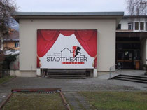 Freilichtbühne vom Stadttheater Kufstein in der Hofgasse 12. Digitalphoto; © Johann G. Mairhofer 2013.  Inv.-Nr. DSC05644