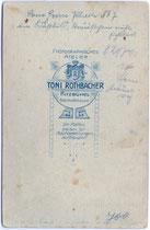 Rückseitenaufdruck mit neoklassizistischem Dekor von Inv.-Nr. vuCAB-00163