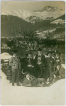 """""""I. Südtiroler Werbegruppe"""" (Rückseitig. Sempelaufdruck). Gelatinesilberabzug 9 x 14 cm ohne Impressum postalisch gelaufen 1926.  Inv.-Nr. vu914gs00065"""